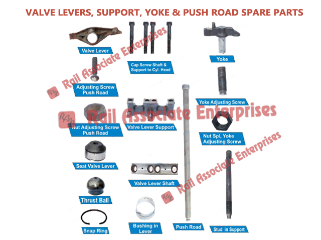 Valve-Levers-Support-Yoke-Push-Road-Spare-Parts
